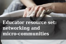 New resource set | creating strong networks and micro communities